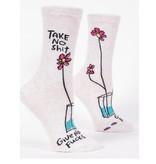 Blue Q Take No Shit Women's Socks