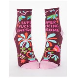 Blue Q Super F*cking Awesome Women's Ankle Socks