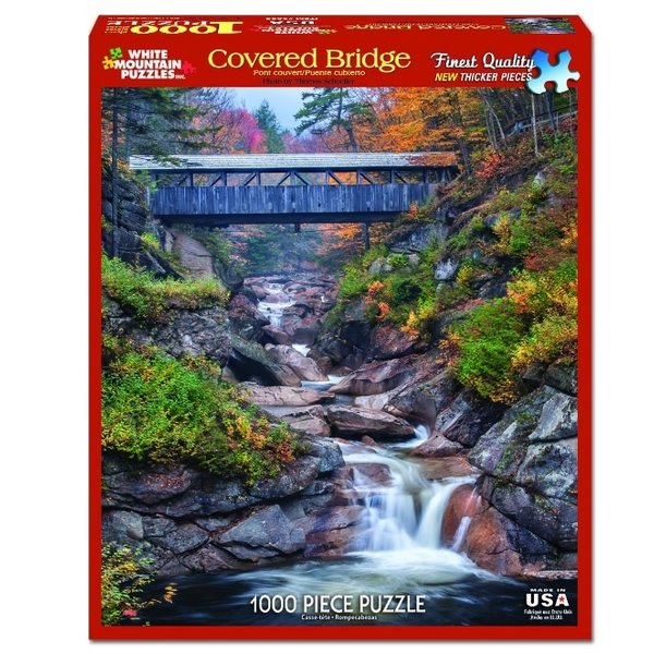 Covered Bridge 1000 Piece Puzzle