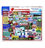 White MTN Puzzles NH Love 1000 Piece Puzzle