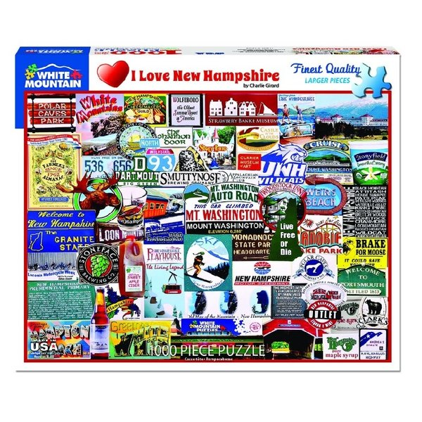 NH Love 1000 Piece Puzzle