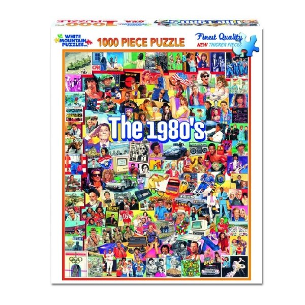 The 1980's 1000 Piece Puzzle