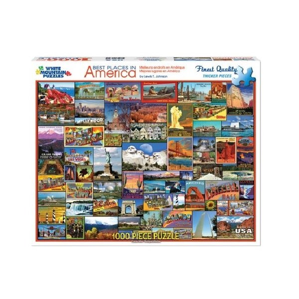 Best Places 1000 Piece Puzzle
