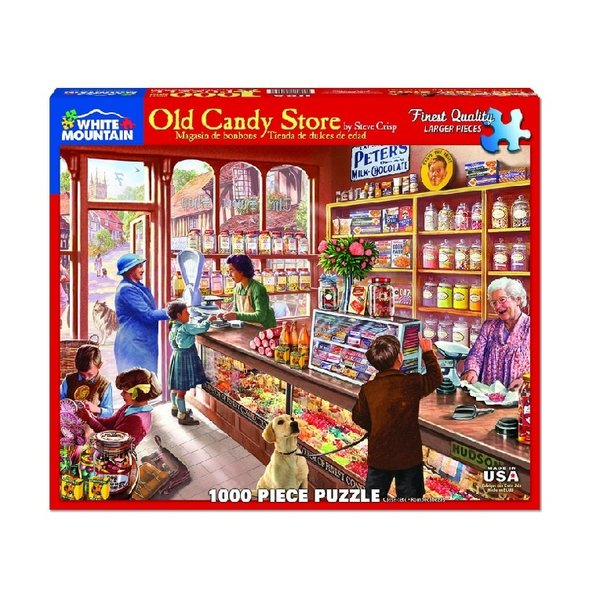 Old Candy Store 1000 Piece Puzzle