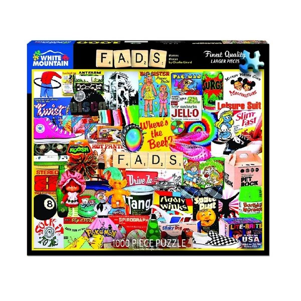 Fads 1000 Piece Puzzle