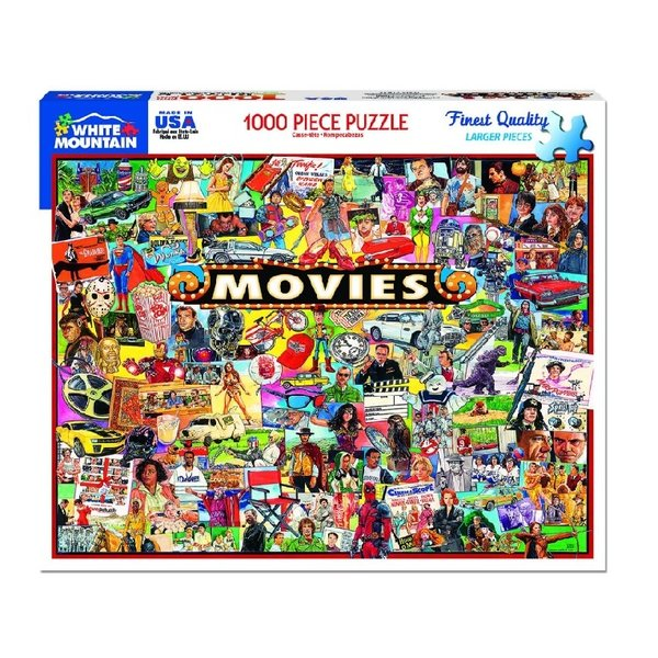 The Movies 1000 Piece Puzzle