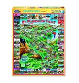 White MTN Puzzles Mt Washington Valley 1000 Piece Puzzle