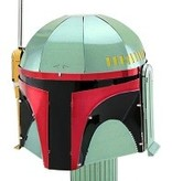 Star Wars Boba Fett Helmet Metal Model Kit