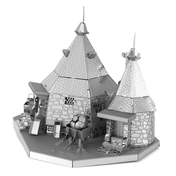 Harry Potter Hagrid's Hut Metal Model Kit