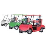 Golf Cart Set of 3 Metal Model Kit
