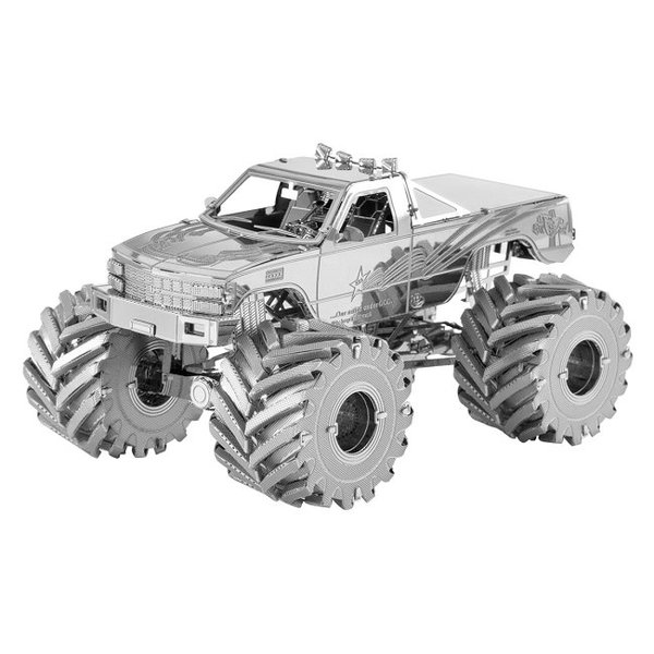 Monster Truck Metal Model Kit