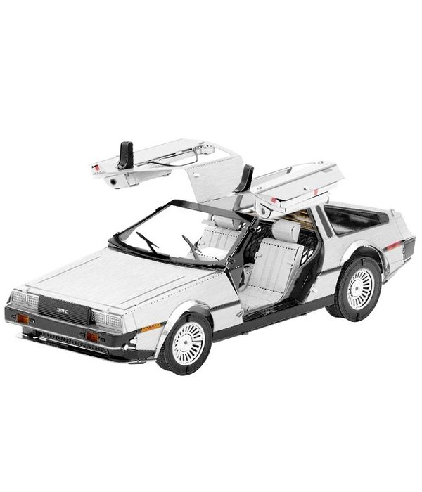 DeLorean Metal Model Kit