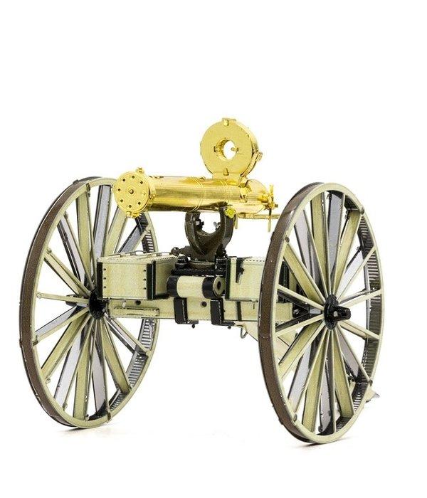 Wild West Gatling Gun Metal Model Kit