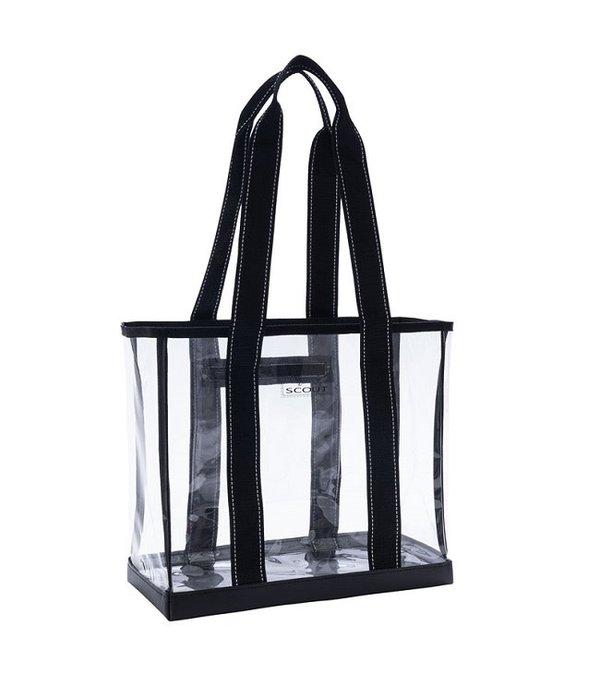 Scout Bags Mini Deano Clear Black