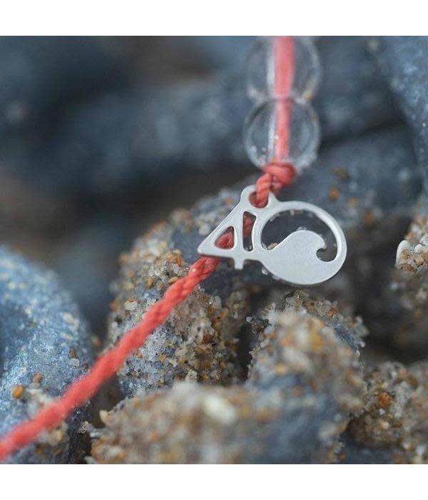 4Ocean 4Ocean Bracelet- Coral Reef pink
