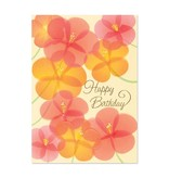 Papyrus Papyrus Scattered Flowers Birthday Card