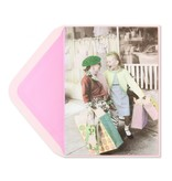 Papyrus Papyrus Birthday Card Two Girls Shopping