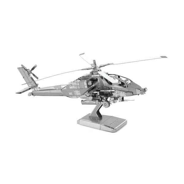 Apache Helicopter Metal Model Kit