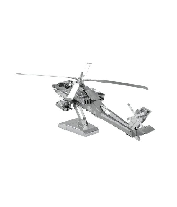 Fascinations Apache Helicopter Metal Model Kit
