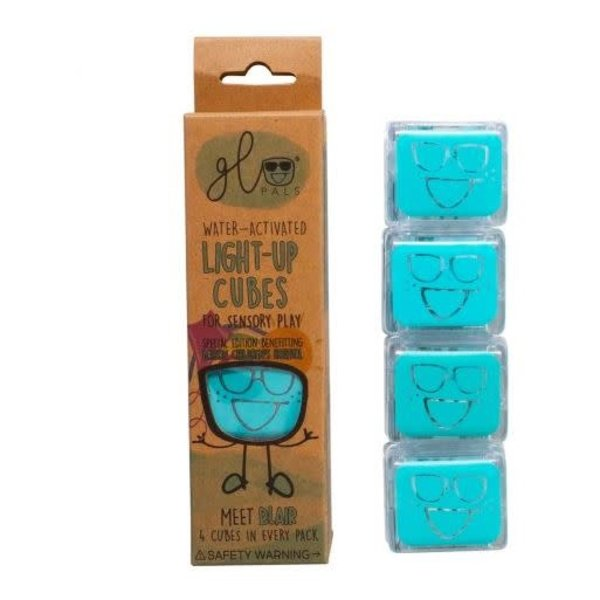 Glopals Light Up Cubes Blue
