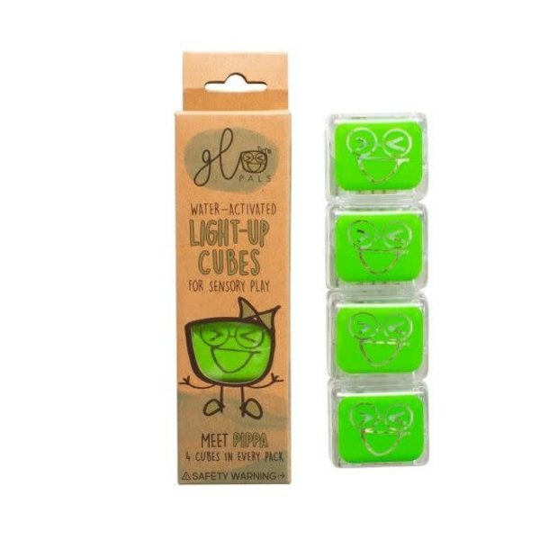 Glopals Light Up Cubes Green