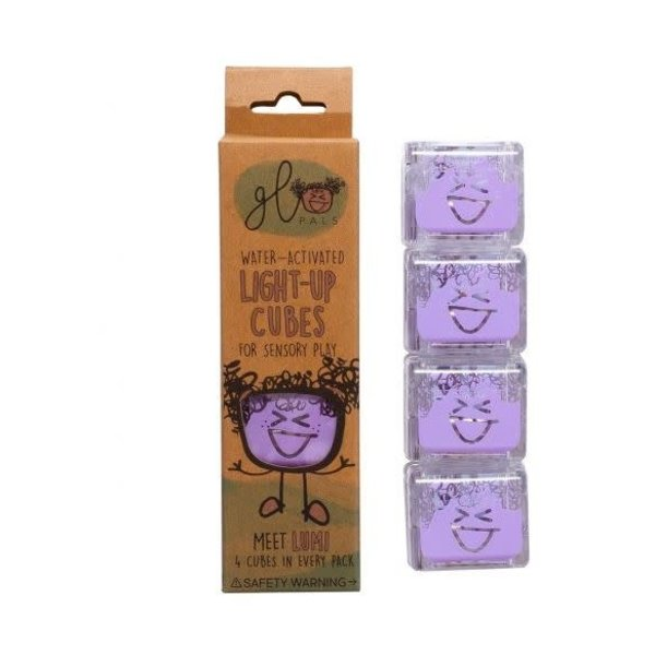 Glopals Light Up Cubes Purple