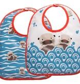 Ore Originals Set of 2 Baby Otter Bibs