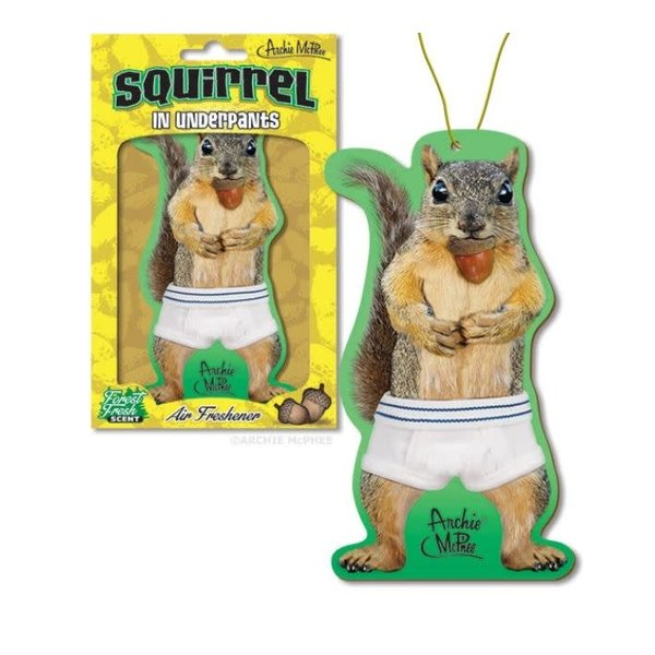 Squirrel Air Freshener