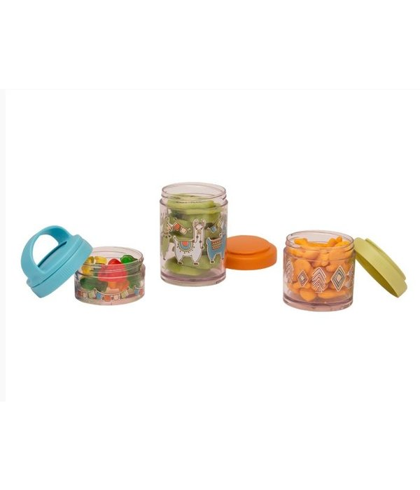 Llama Twist/Stack Snack Containers