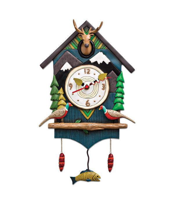 Allen Designs Allen Design- Mountain Time Clock