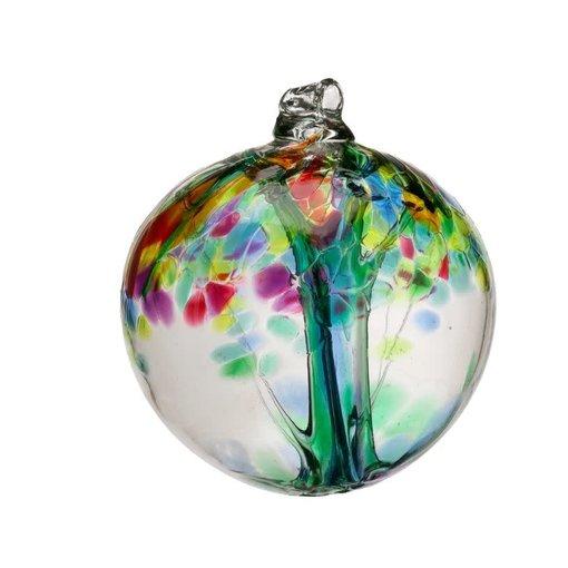 Kitras Glass Family Tree Enchant Glass Ball