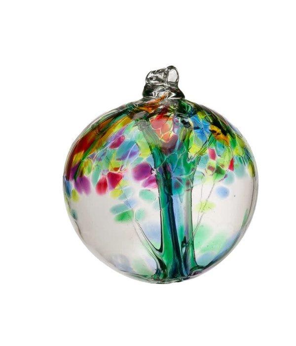 Kitras Glass Kitras Family Tree Enchant Glass Ball 2 in