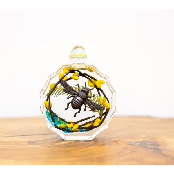 Oil Candle Sunburst Bumble Bee