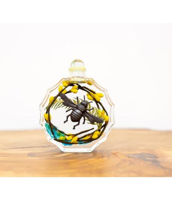 Lifetime Oil candle sunburst bumble bee