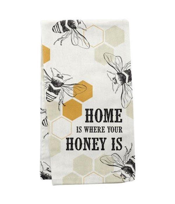 Karma Bee Tea Towel