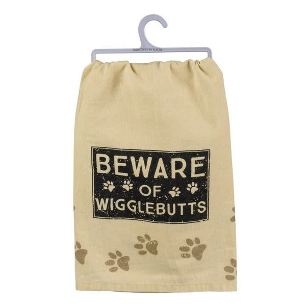 Dish Towel Beware Of Wigglebutts