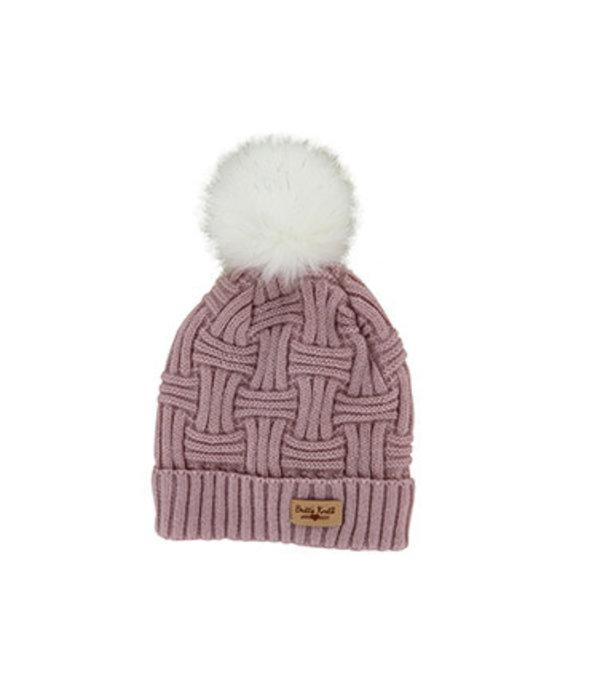 Britt's Knits Winter Hat With Pom Pom
