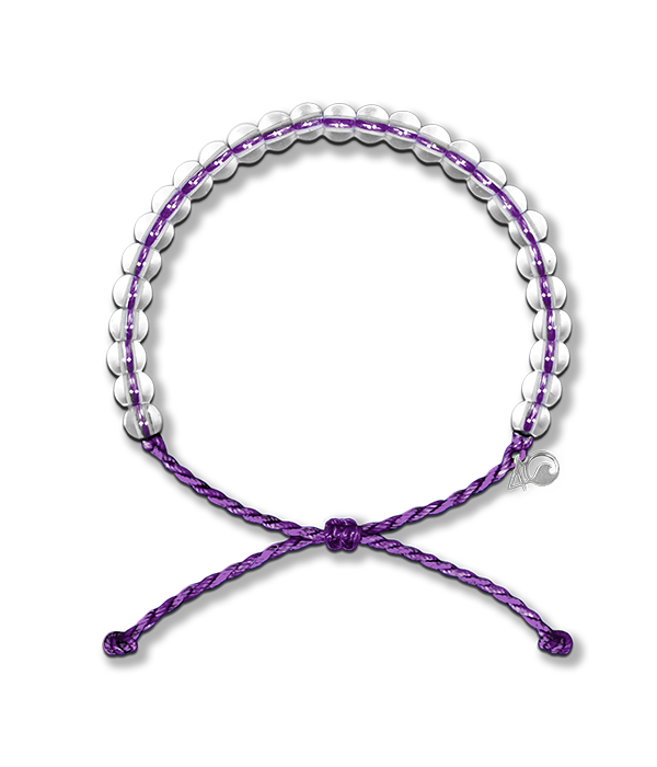 4Ocean 4Ocean Bracelet- Hawaiian Monk Seal Purple