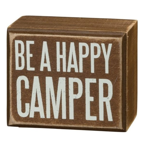 Be A Happy Camper Sign