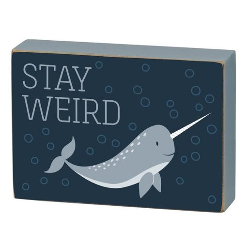 Primitives Stay Weird Sign