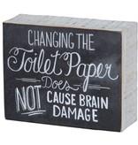Primitives Primitives Sign- Changing The Toilet Paper