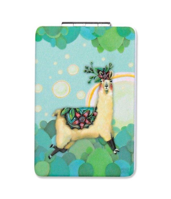 Allen Designs Allen Designs- Llama Compact Mirror