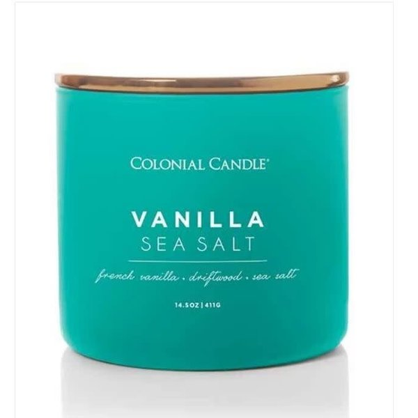 Vanilla and Sea Salt Candle