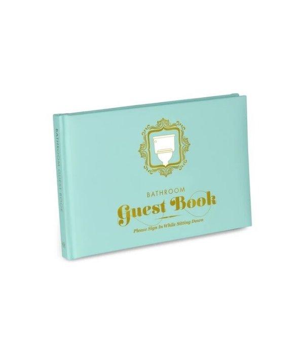 Bathroom Guest Book