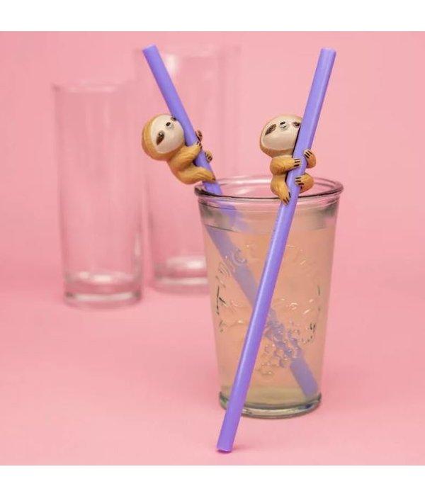 Sloth Straws- Set of 2
