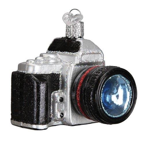 Old World Christmas Camera Christmas Ornament