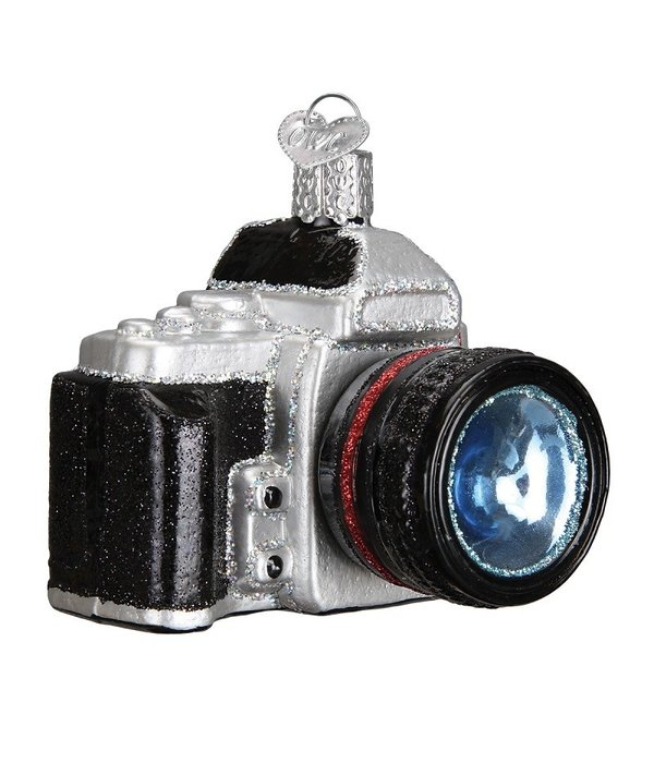 Old World Christmas Camera Ornament