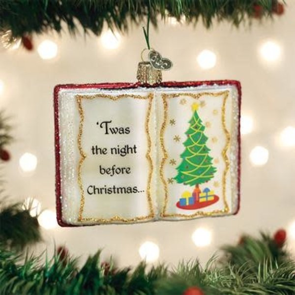 Night Before Christmas Ornament