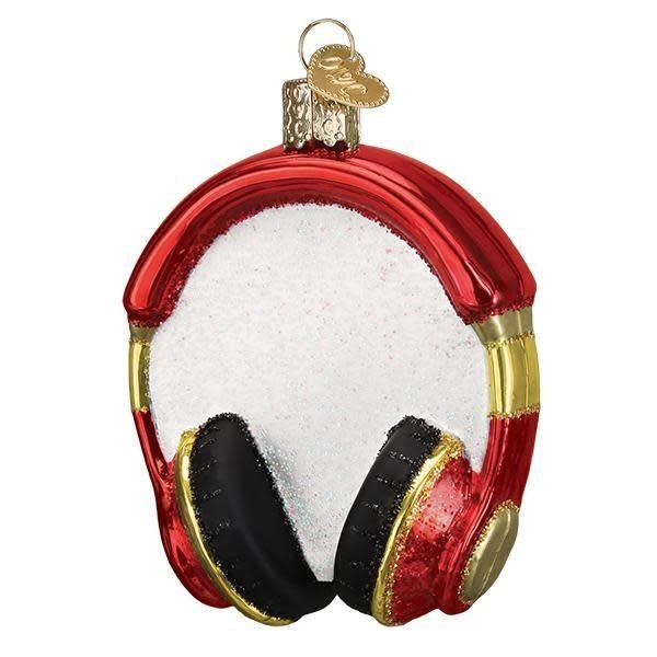 Headphone Christmas Ornament
