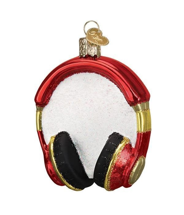 Old World Christmas Old World Christmas Headphones Ornament